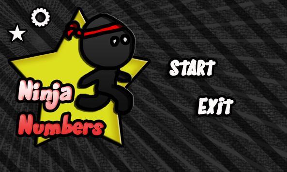 Ninja Numbers poster