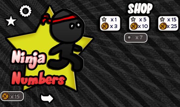 Ninja Numbers screenshot 2