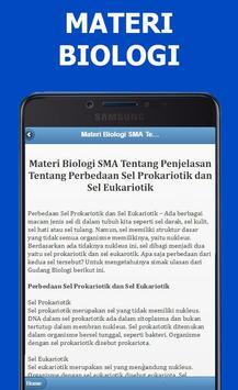 Materi Biologi SMA Lengkap Terbaru screenshot 4
