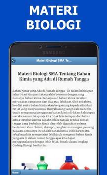Materi Biologi SMA Lengkap Terbaru screenshot 2