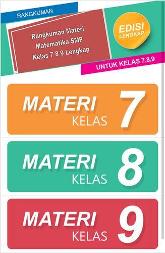 Rangkuman Materi Smp Matematika Kelas 7 8 9 For Android Apk Download