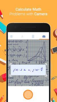 Camera Calculator – Solve Math by Take Photo постер