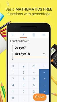 Camera Calculator – Solve Math by Take Photo скриншот 1