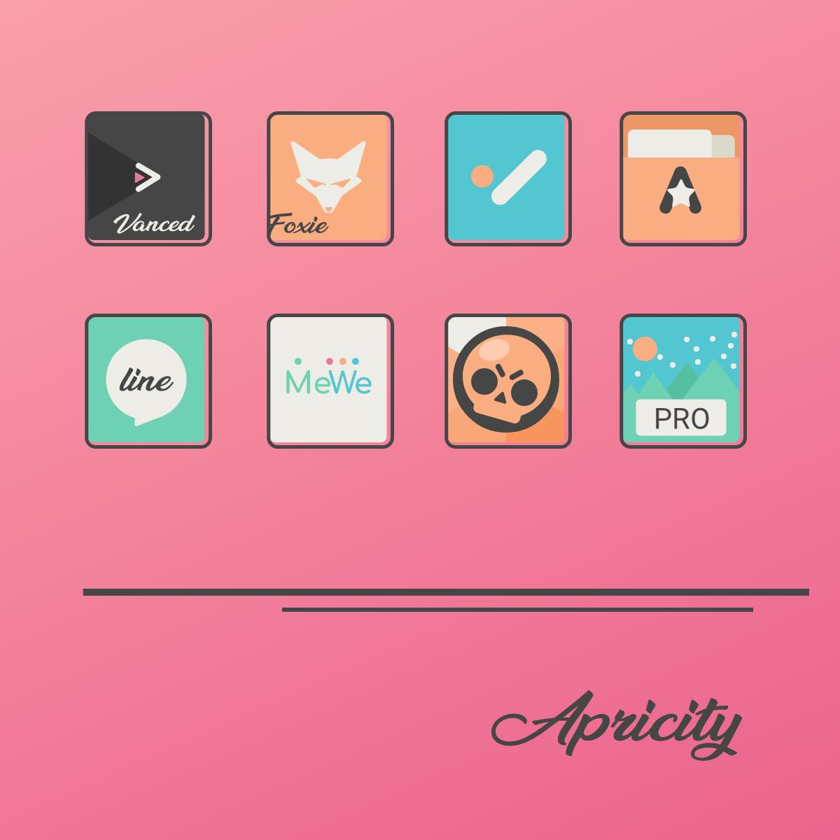 Apricity - Icon Pack for Android - APK Download