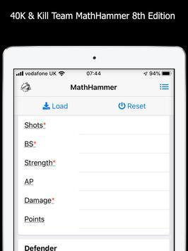 MathHammer 40K & Kill Team 截图 16