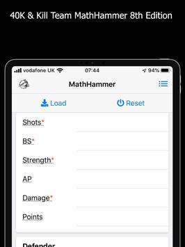 MathHammer 40K & Kill Team 截图 8