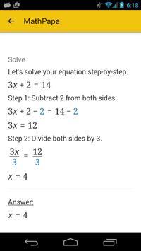 MathPapa syot layar 1