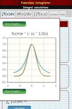 Integral calculator screenshot 2