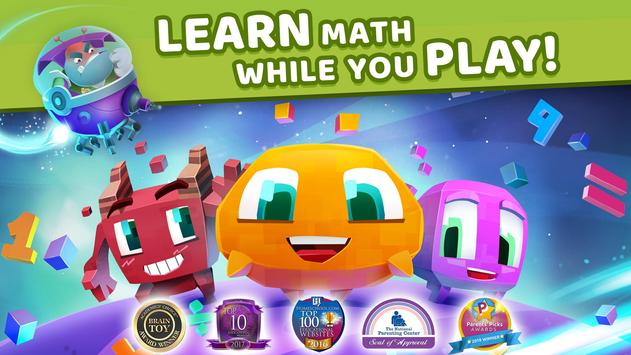 Matific Galaxy - Maths Games for 4th Graders poster