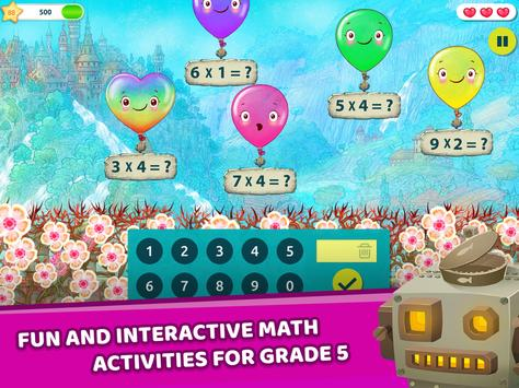 Matific Galaxy - Maths Games for 5th Graders 截图 8
