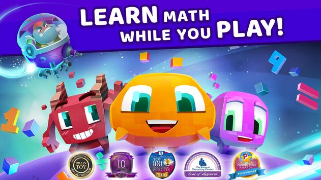 Matific Galaxy - Maths Games for 6th Graders poster