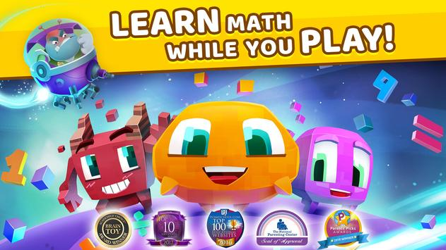 Matific Galaxy - Maths Games for 2nd Graders poster