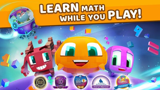 Matific Galaxy - Maths Games for 3rd Graders poster
