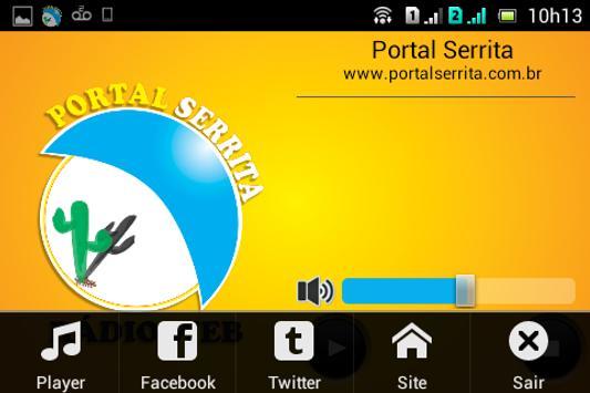 Portal Serrita screenshot 3