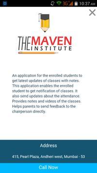 The Maven Institute screenshot 2