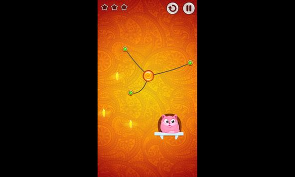Amazing 3D Cut Rope|String|Cord challenge Game screenshot 3