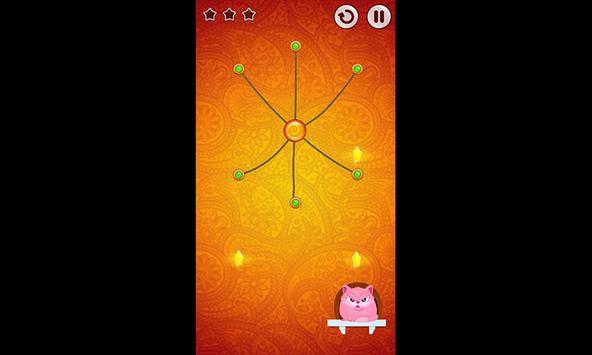 Amazing 3D Cut Rope|String|Cord challenge Game screenshot 4