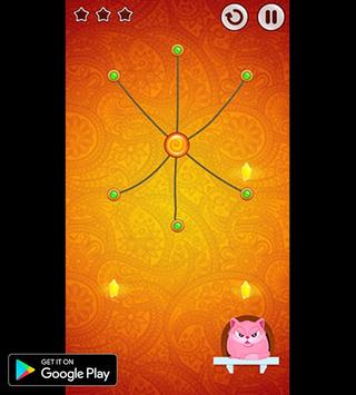 Amazing 3D Cut Rope|String|Cord challenge Game screenshot 6