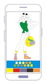 Barbie Coloring Book screenshot 3