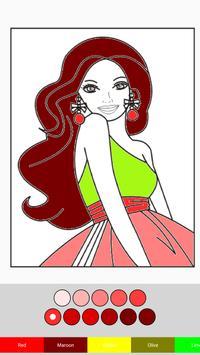 Barbie Coloring Book screenshot 6
