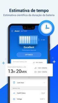 MAX Battery - Economia e Proteção de Bateria Cartaz