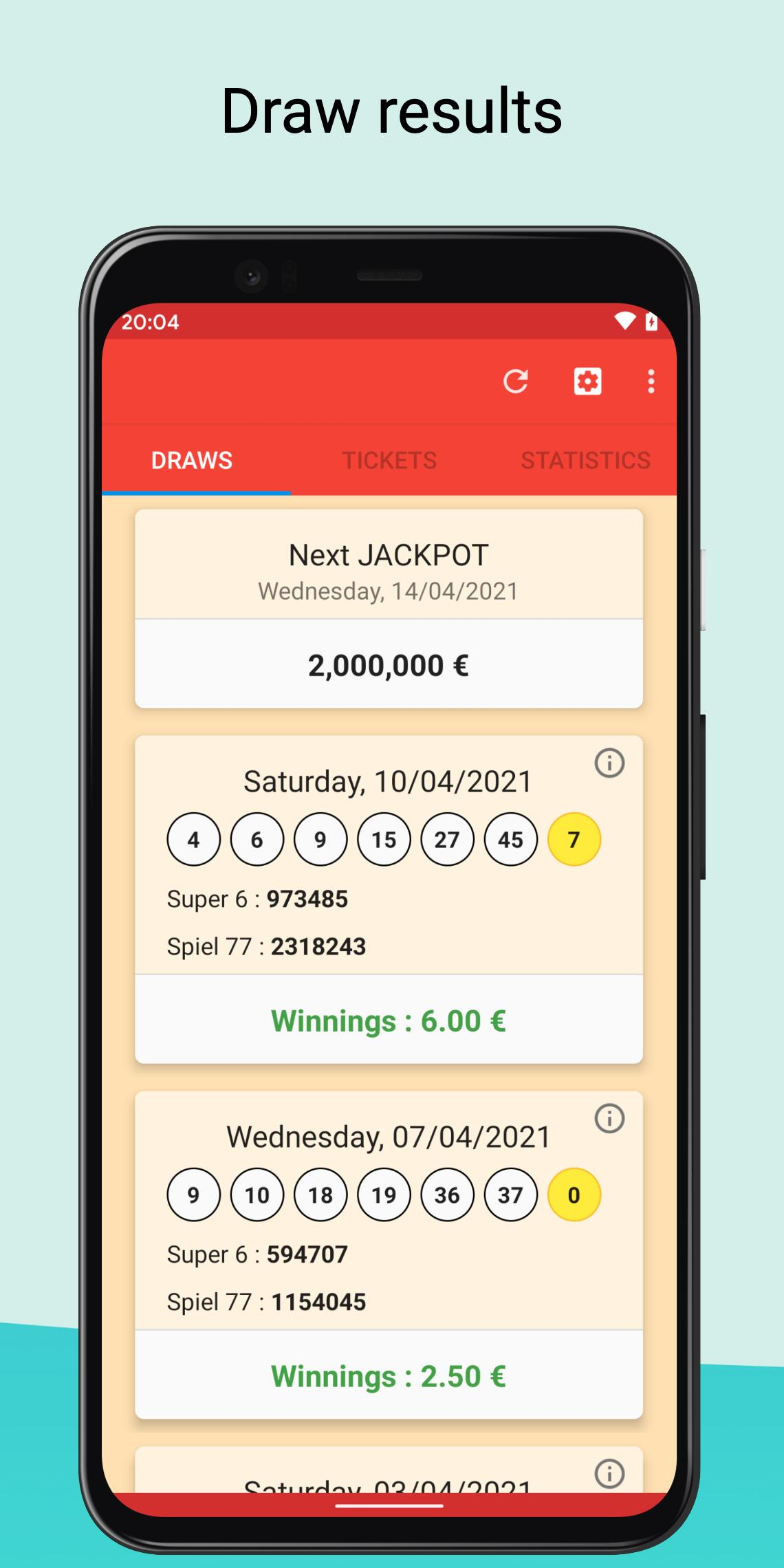 6 aus 49 lotto results
