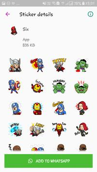 WAStickerApps - Cute Stickers Pack for Whatsapp screenshot 3