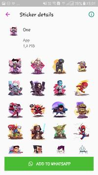 WAStickerApps - Cute Stickers Pack for Whatsapp screenshot 1