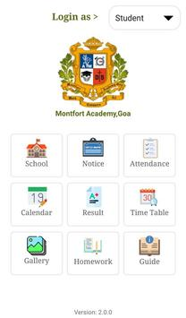 Montfort Academy,Goa screenshot 4