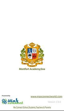 Montfort Academy,Goa poster