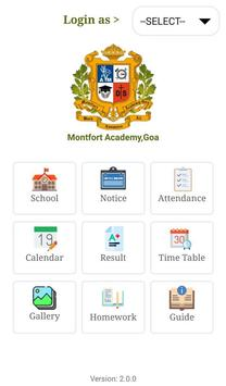 Montfort Academy,Goa screenshot 1
