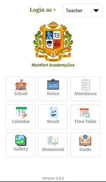 Montfort Academy,Goa screenshot 2