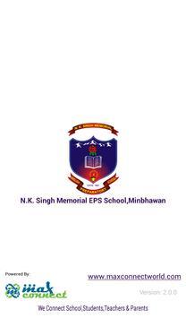 N.K. Singh Memorial EPS School,Minbhawan poster