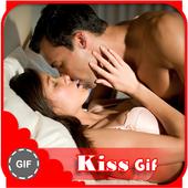 Kiss Gif icon