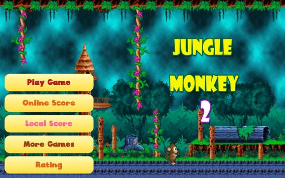 Jungle Monkey 2 capture d'écran 10