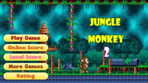Jungle Monkey 2 capture d'écran 2
