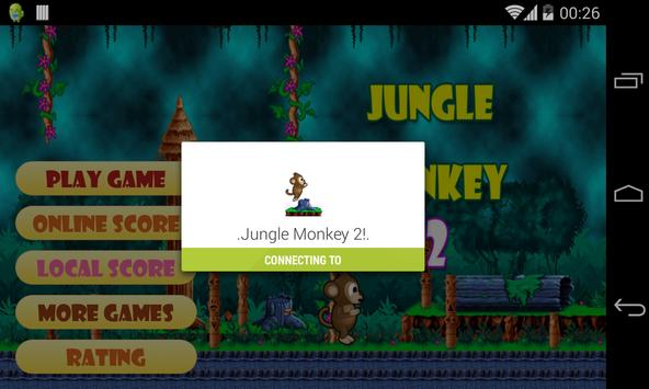 Jungle Monkey 2 capture d'écran 4