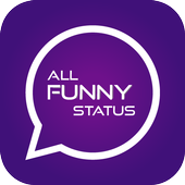 All Funny Status: Status saver and videos icon