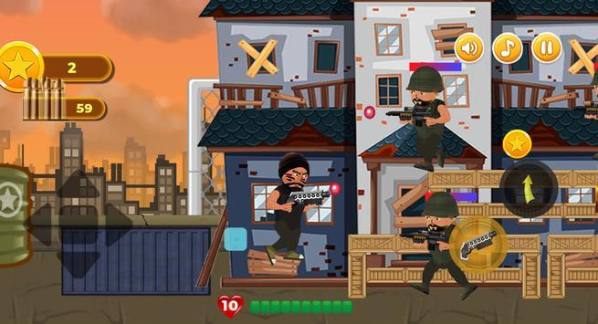 Revenge of Hero : Action 2D Platform Shooter Games screenshot 13