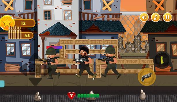 Revenge of Hero : Action 2D Platform Shooter Games screenshot 1