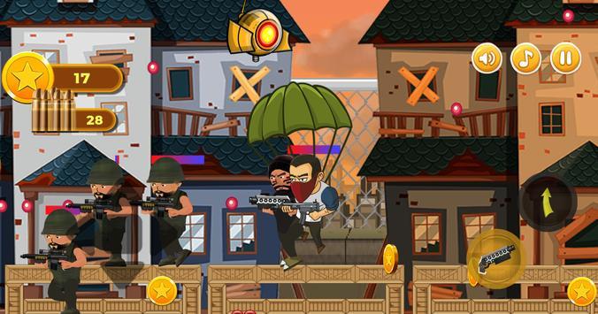 Revenge of Hero : Action 2D Platform Shooter Games screenshot 9