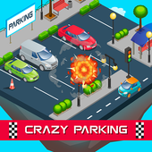 Crazy Parking – Cars Unblock Slide Puzzle Game icon