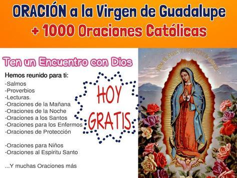 Oracion Virgen de Guadalupe-1000OracionesCatolicas poster