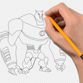 How to draw Ben 10 Aliens
