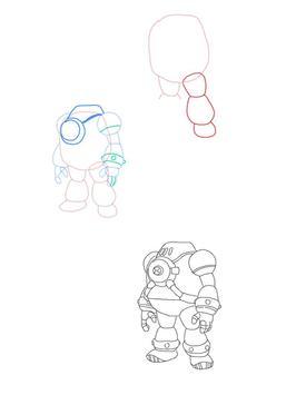 How to draw Ben 10 Aliens screenshot 1