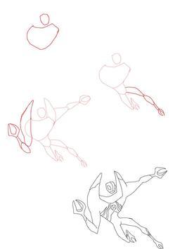 How to draw Ben 10 Aliens screenshot 2