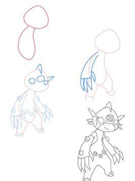 How to draw Ben 10 Aliens screenshot 3