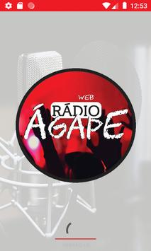 Web Rádio Ágape poster