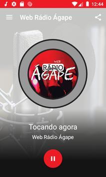 Web Rádio Ágape screenshot 1