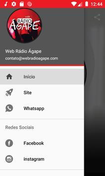 Web Rádio Ágape screenshot 2